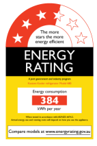 Link to Energy Star Ratings info